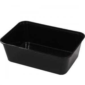 1000m1000ml Black Rectangular Container RE-GFB1000l Black Rectangular Container GF-REB1000