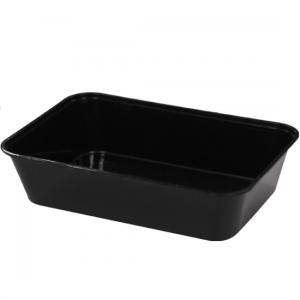 500ml Black Rectangular Container GF-REB0500