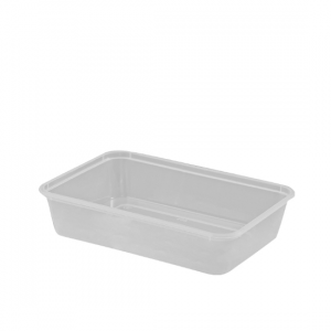 500ml Freezer Grade Rectangular Containers - Dash Packaging
