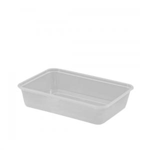 500ml Freezer Grade Rectangular Containers - Dash Packaging
