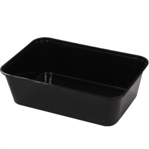 650ml Black Rectangular Container GF-REB0650