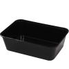 750ml Black Rectangular Container GF-REB0750