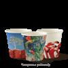 Art Series 6oz Coffee Cups - Single Wall