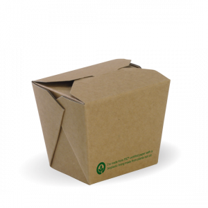 8oz Brown Noodle Box - Dash Packaging