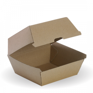 Brown Burger Box - Dash Packaging
