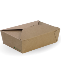 Large BioBoard Lunch Box - Dash Packaging