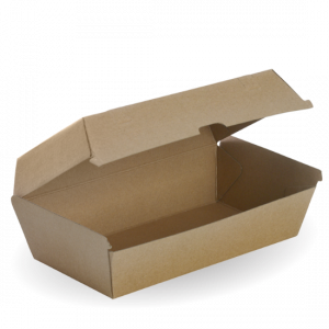 Large Brown Snack Box - Dash Packaging
