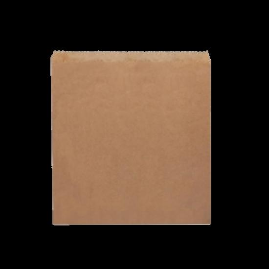 1W Flat Brown Paper Bag