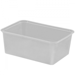 1000ml Freezer Grade Rectangular Containers - Dash Packaging