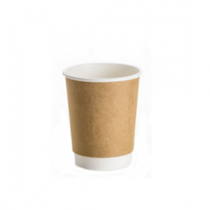12oz Kraft Double Wall Coffee Cup - Dash Packaging
