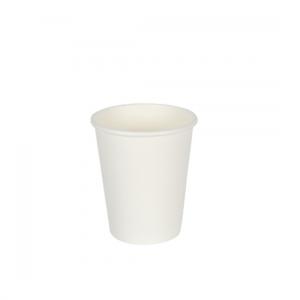 12oz White Single Wall Coffee Cups - Dash Packaging