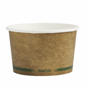 16oz Brown Paper Bowl - Dash Packaging