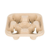 4 Tray Moulded Coffee Holder - Dash Packaging