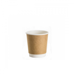 4oz Kraft Double Wall Coffee Cup - Dash Packaging