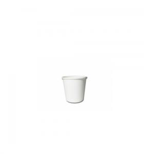 4oz White Single Wall Coffee Cups - Dash Packaging