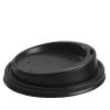 Black Coffee Cup Lid - Dash Packaging