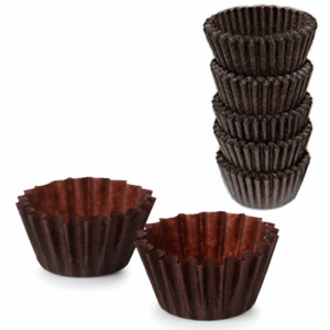 Chocolate Muffin Papers - Dash Packaging