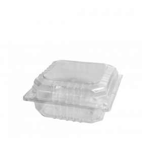 Clear Small Square Pack - Dash Packaging