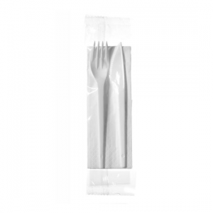 Cutlery Set (Knife, Fork, Napkin) - Dash Packaging