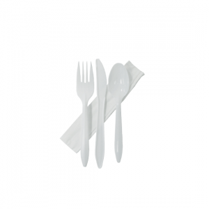 Cutlery Set (Knife, Fork, Spoon, Napkin) - Dash Packaging