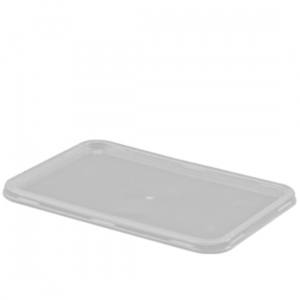 Freezer Grade Rectangular Lids - Dash Packaging