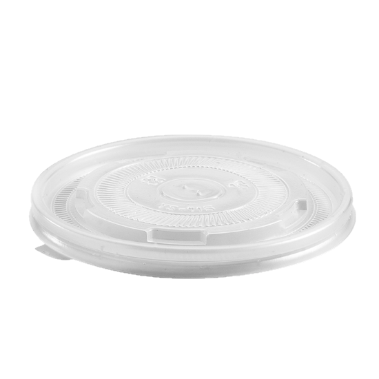 Plastic Lids to Suit 12oz-32oz Paper Bowls - Dash Packaging