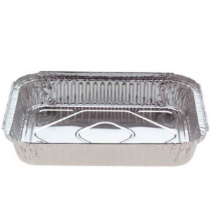 Rectangular Large Foil Containers - Dash Packaging