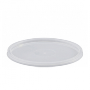 Round Freezer Grade Lid - Dash Packaging